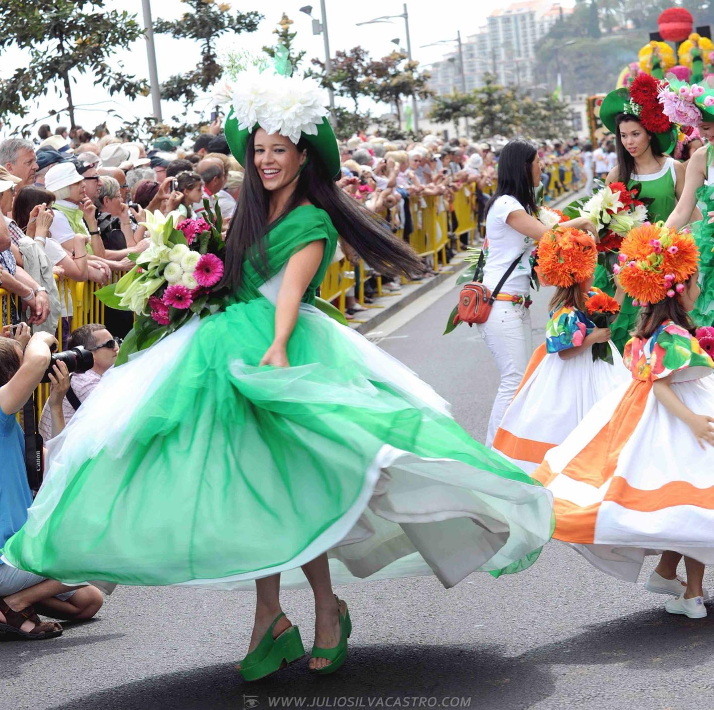 Pictures From Madeira Flower Festival 1