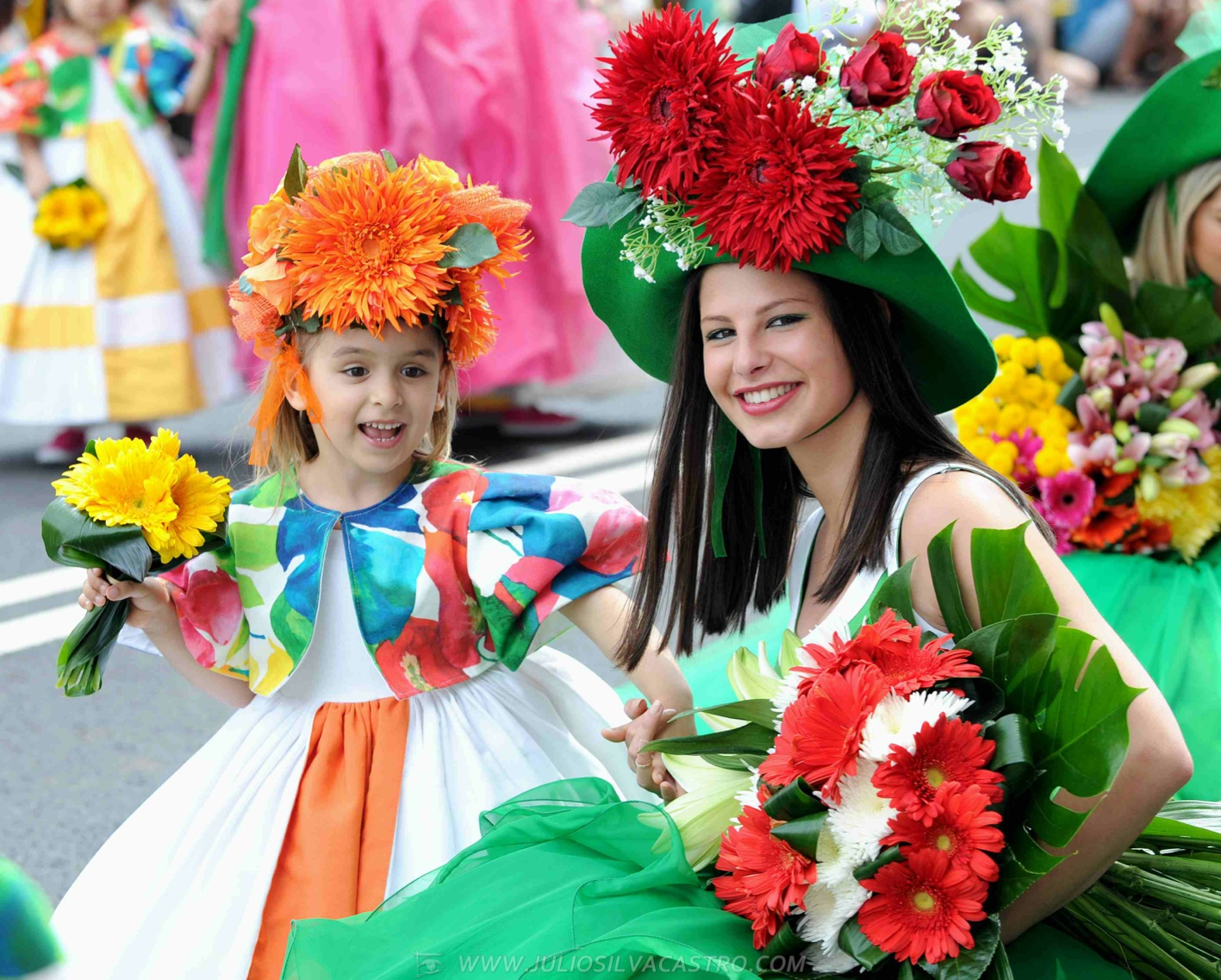 Pictures From Madeira Flower Festival 3