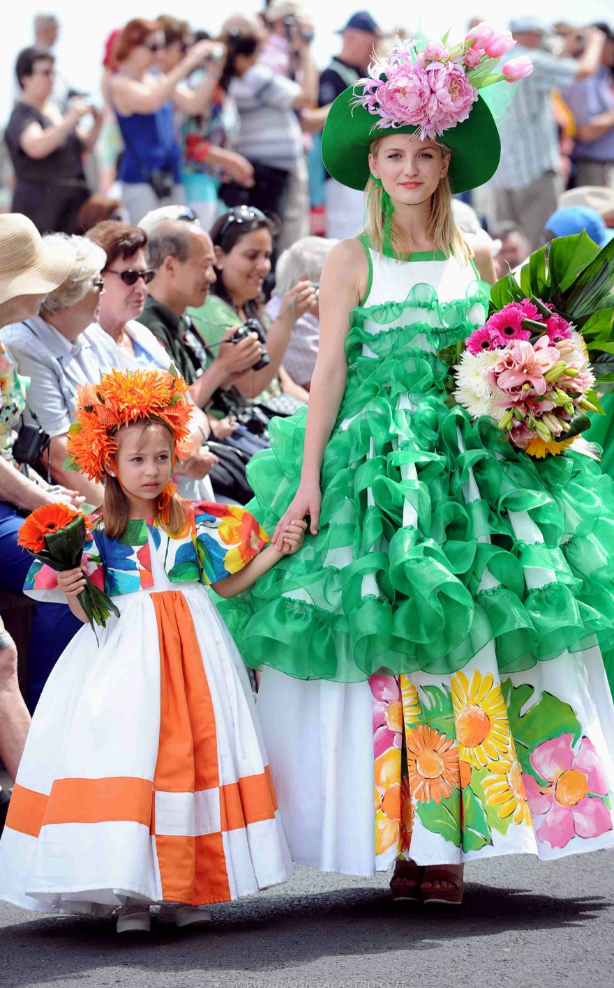 Pictures From Madeira Flower Festival 7