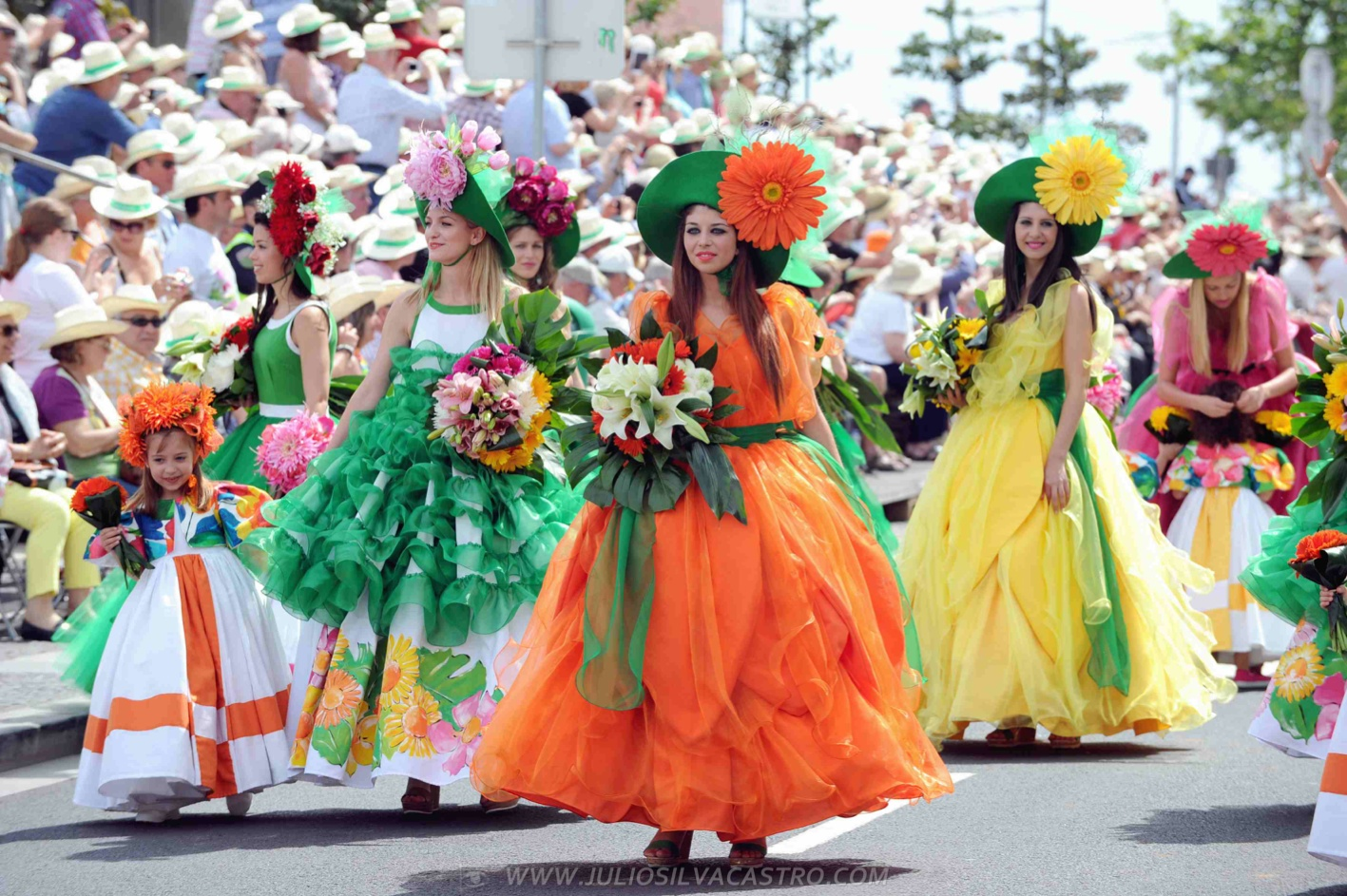 Pictures From Madeira Flower Festival 57