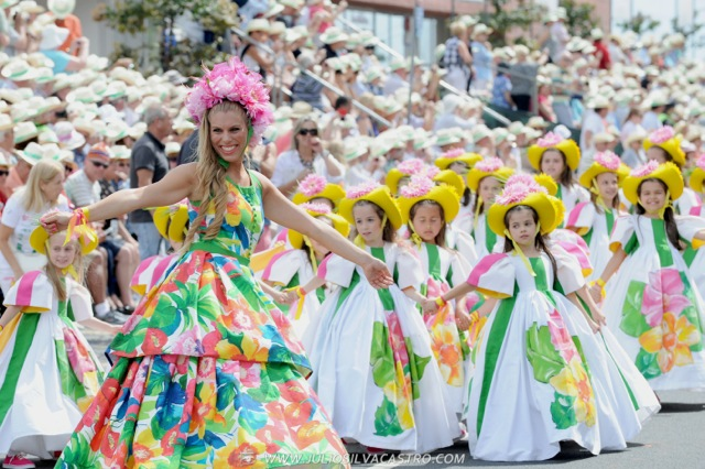 Pictures From Madeira Flower Festival 34