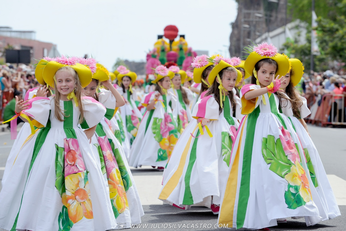 Pictures From Madeira Flower Festival 37