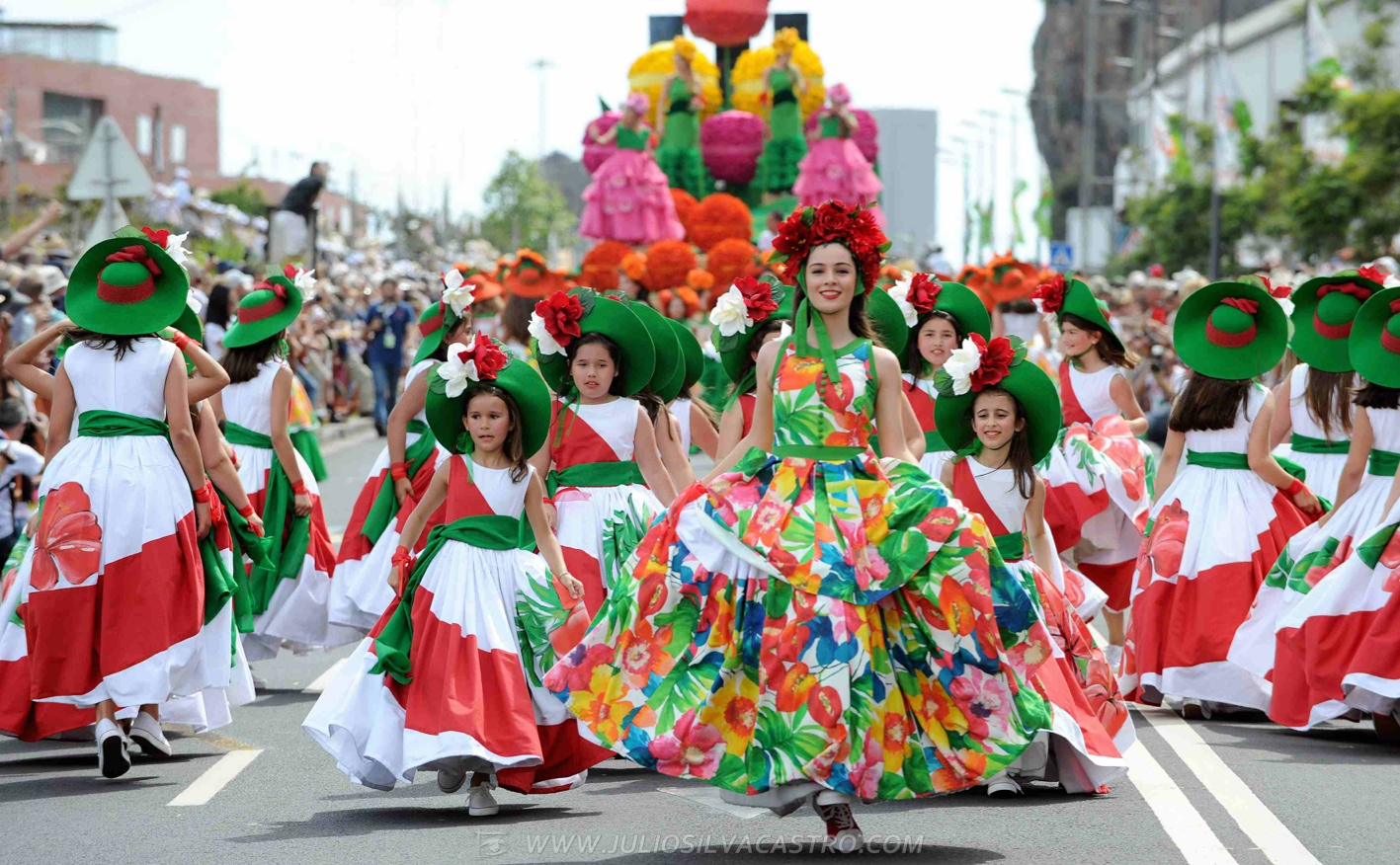 Pictures From Madeira Flower Festival 17