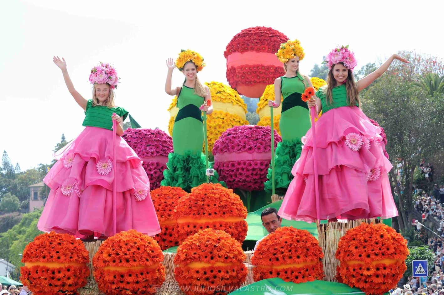 Pictures From Madeira Flower Festival 18