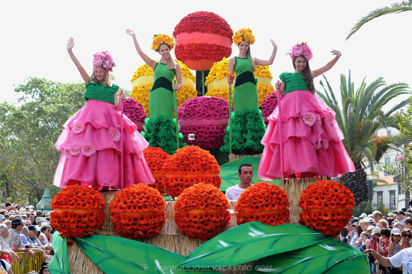 Pictures From Madeira Flower Festival 24