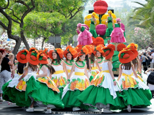 Pictures From Madeira Flower Festival 43