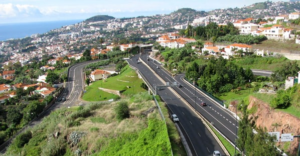 Driving in Madeira