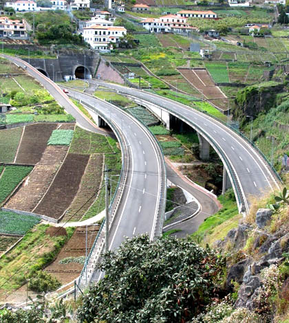 Driving Madeira - Good roads 1