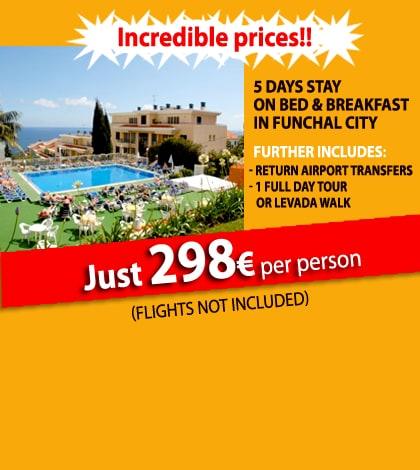 Hotel Estrelicia 3 stars - Pack Travel Madeira 1