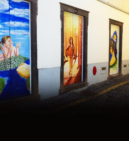 Imagination and creativity revitalized the old town of Funchal 1