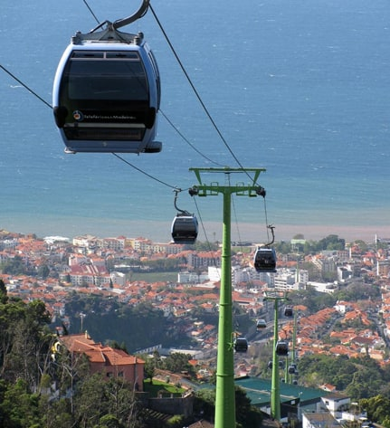 Monte Cable car - Madeira Island cable car 1
