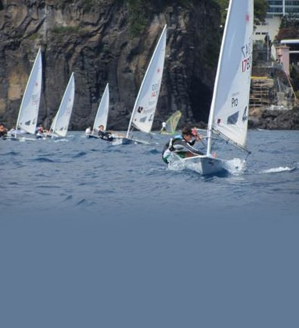 Sailing Madeira - Funchal receives first stage of the regional dinghy 1