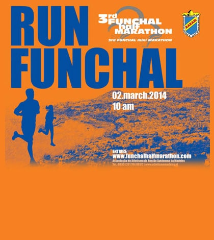 The 3rd Half Marathon Funchal take place this Sunday, March 2 1