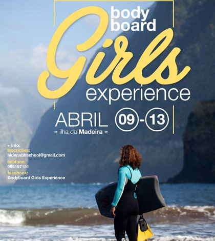 Madeira Bodyboard girls experience 1