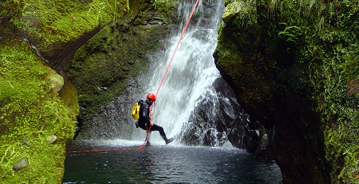 Canyoning in Porto Moniz